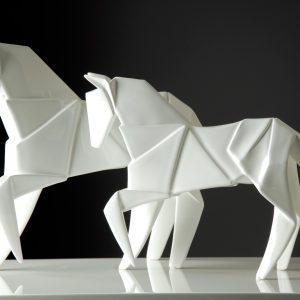 Cavalo Branco - Complementos de Decoração - Decor Império