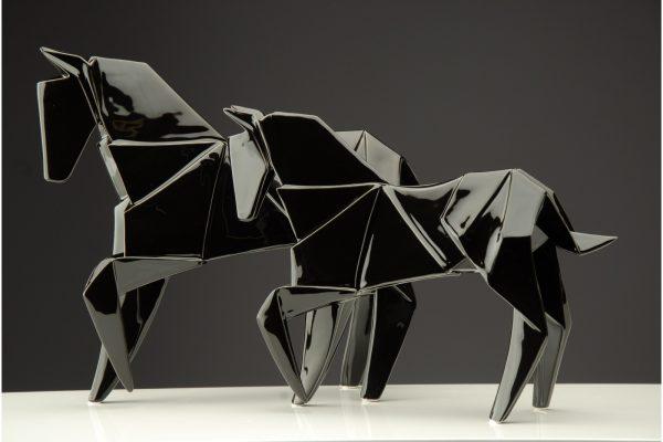 Cavalo Preto - Complementos de Decoração - Decor Império
