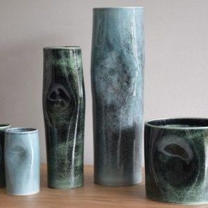 Jarra Cerâmica Azul - Complementos de Decoração - Decor Império