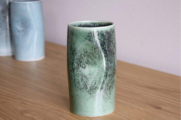 Jarra Cerâmica Verde - Complementos de Decoração - Decor Império