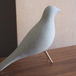 Pássaro Cerâmico Cinza - Complementos de Decoração - Decor Império