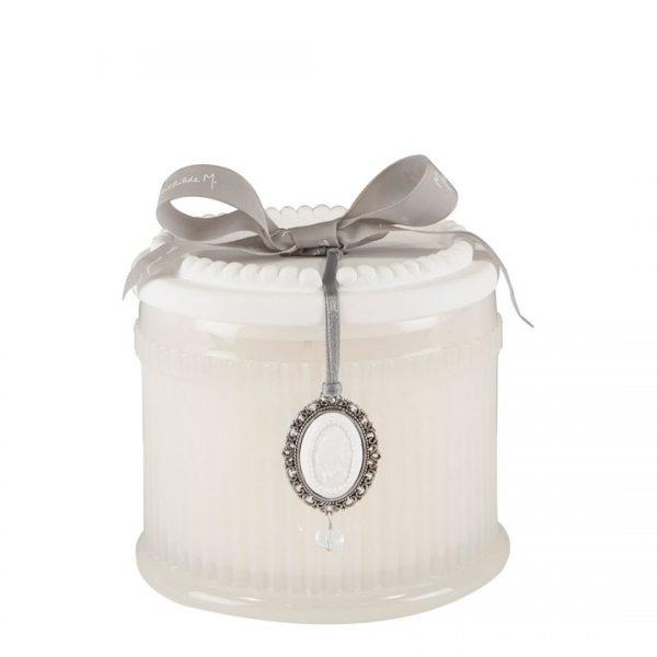 Mathilde M - Bougie parfumee elegante 340g poudre de riz