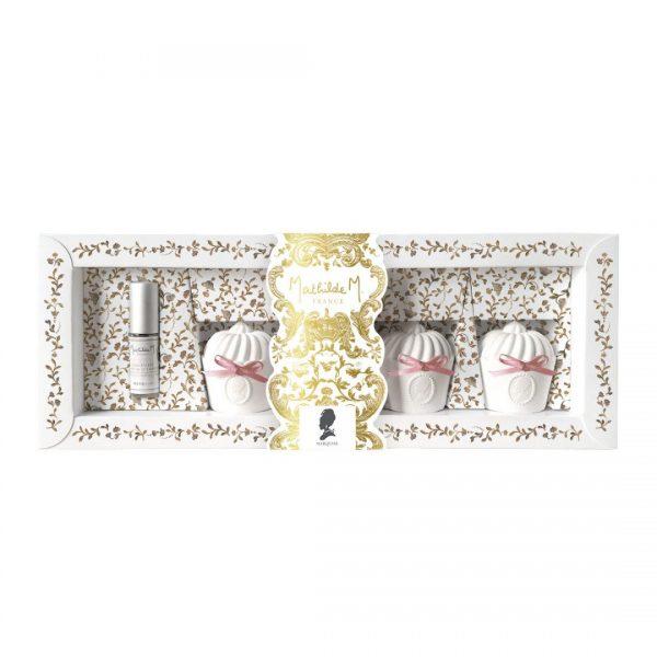 Mathilde M - Coffret de decors parfumes gourmandises fetes royales marquise