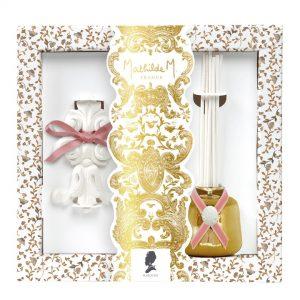 Mathilde M - Coffret diffuseur de parfum d' ambiance fetes royales marquise