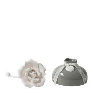 Mathilde M - Diffuseur de parfum d' ambiance soliflore rose gris poudre de riz