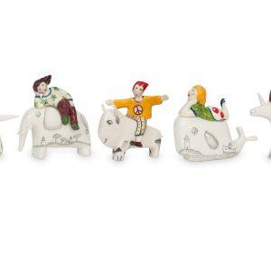 Coleção Animais com personagens