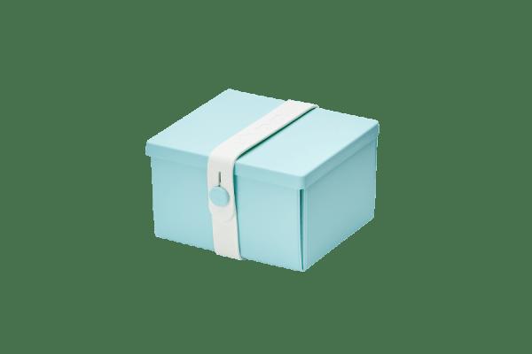 Uhmm Box Quadrada Verde Menta - Branca
