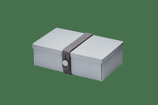 Uhmm box Retangular Cinza - Cinza Escuro